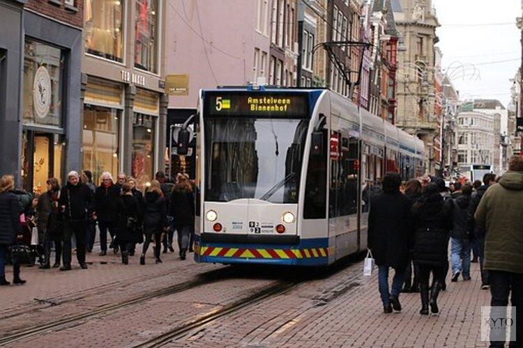 Staking in openbaar vervoer Amsterdam; geen trams, bussen en metro's