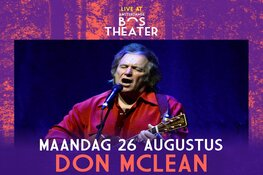 Don McLean toegevoegd aan line-up Live At Amsterdamse Bos 2019