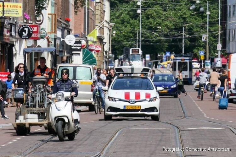 Amsterdam zet scanauto's structureel in tegen foutparkeerders