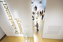 Forbo met gouden Marmoleumvloer in Hermitage