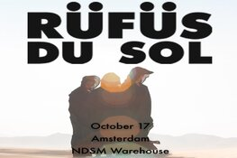Rüfüs Du Sol live tijdens Amsterdam Dance Event