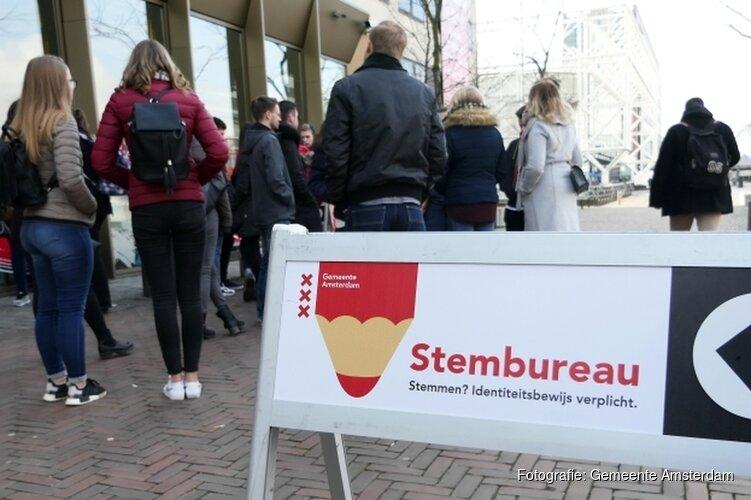 Opkomst en uitslagen Amsterdam verkiezingen 20 maart 2019
