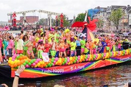 Pride Amsterdam 2019: feestjes buiten de boot