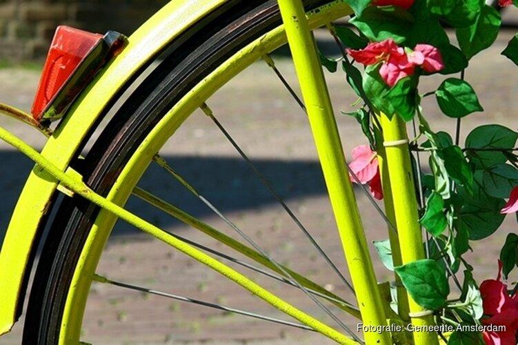 Fijn voor fietsende Amsterdammers: extra routes