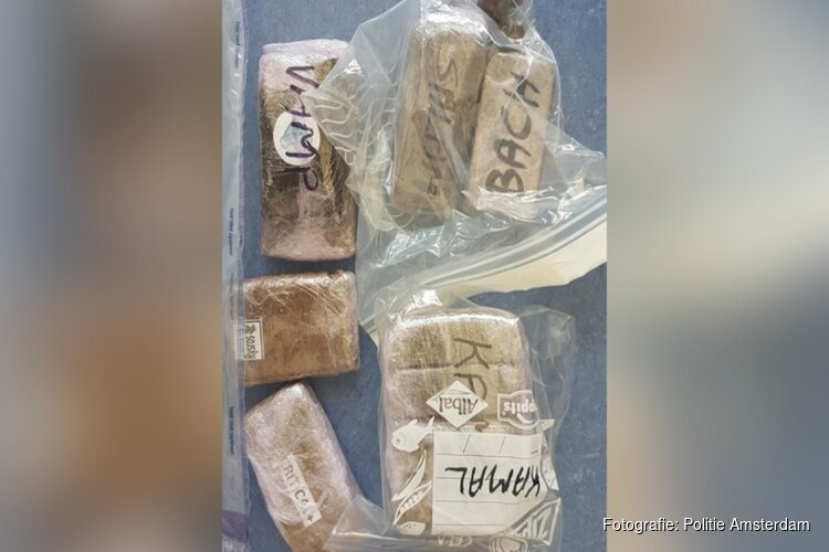 Grote hoeveelheid hasj en cash gevonden in Amsterdamse spookwoningen