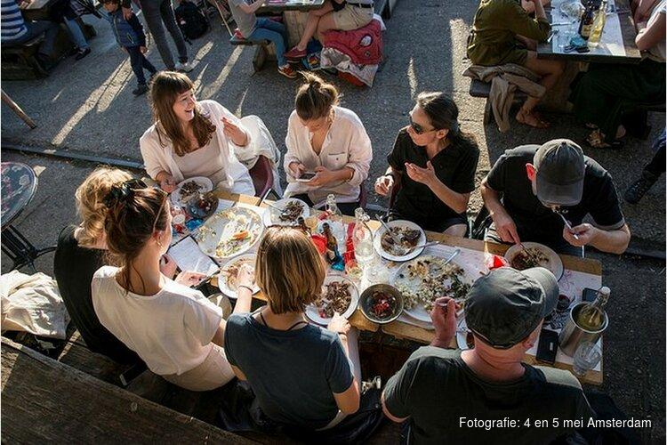 Vrijheidsmaaltijden rond thema Familie Amsterdam