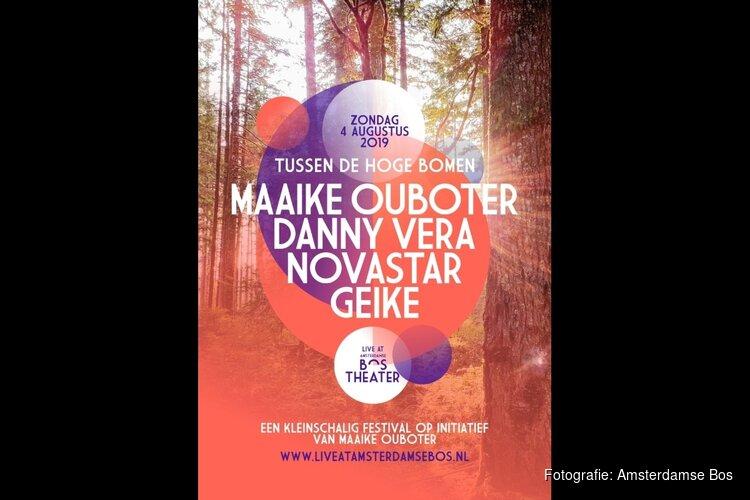 Maaike Ouboter presenteert intiem festival in Amsterdamse Bos