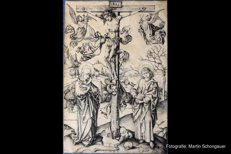 Rijksmuseum verwerft zeldzame middeleeuwse prent van Martin Schongauer