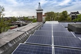 Zonnedak met 316 panelen op de Hermitage Amsterdam in gebruik genomen