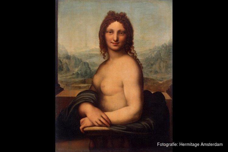 Hermitag t's Donna Nuda mogelijk toch een échte Da Vinci?