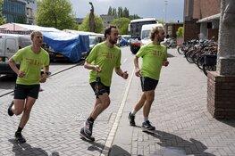 Estafettelopers hebben het bevrijdingsvuur naar Amsterdam gebracht