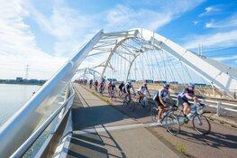 Weg uit de fietsfile bij Cycle Tour Amsterdam