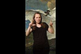 Rijksmuseum biedt als eerste museum een videotour in Nederlandse Gebarentaal