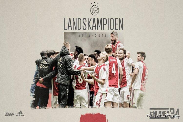 34e landstitel voor Ajax!