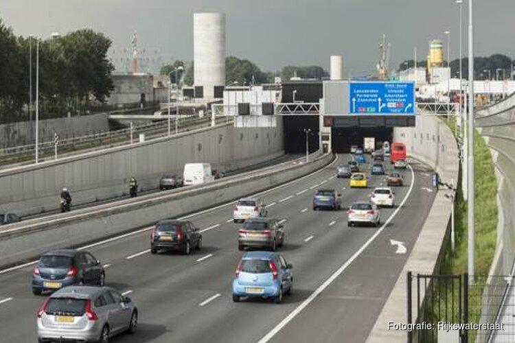 Coentunnel aankomende nacht dicht: verkeer moet omrijden