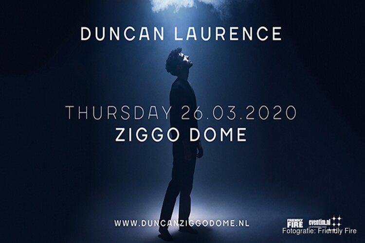 Duncan Laurence naar Ziggo Dome