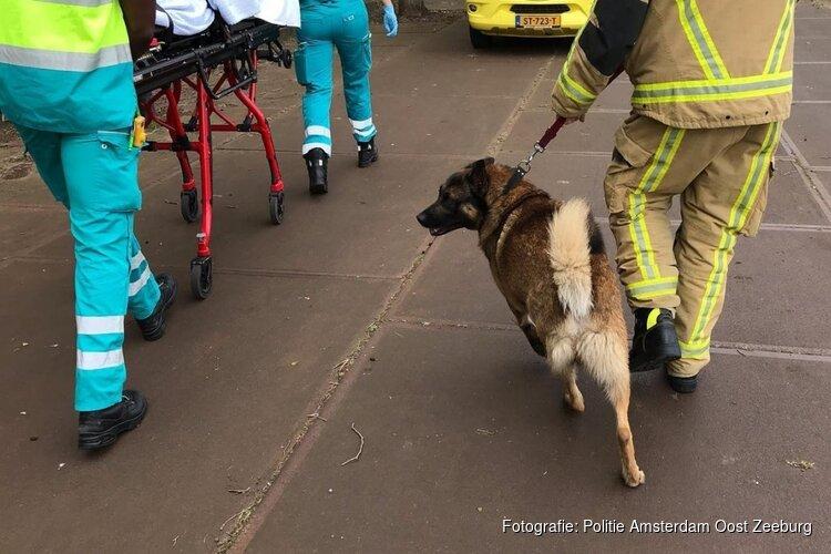 Baasje springt in water om hond te redden, brandweer rukt uit voor beide slachtoffers