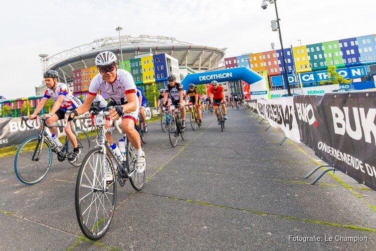 Zondag 9 juni wielerfeest Cycle Tour Amsterdam