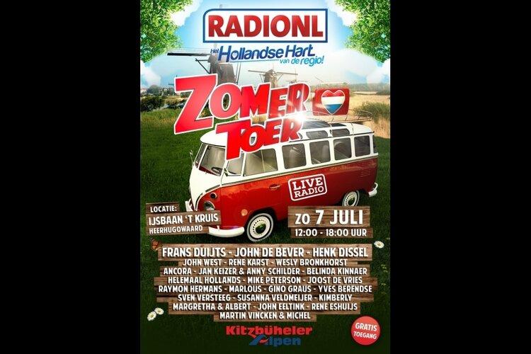 Kom naar de RADIONL Zomertoer op 6 en 7 juli!