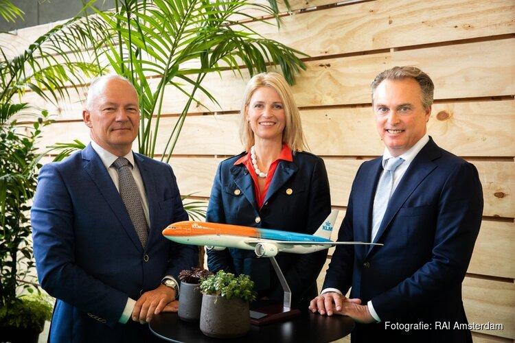 Air France-KLM en RAI Amsterdam verlengen samenwerking om internationale beurzen, congressen en evenementen naar Amsterdam te halen