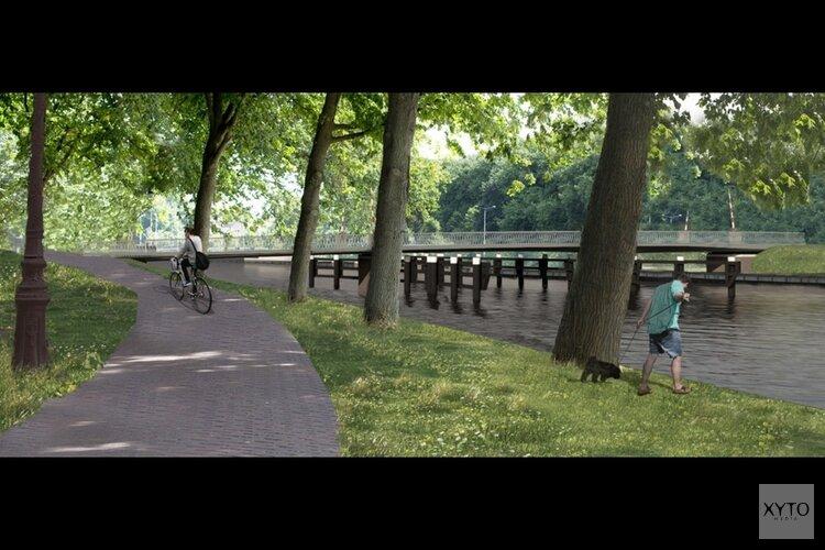 Nieuwe brug over Noordhollandsch Kanaal