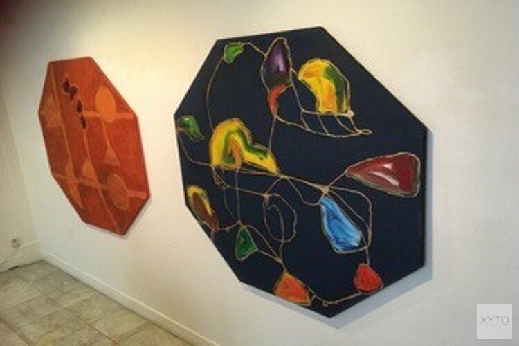 Guillaume Lo-a-Njoe in Arti et Amicitiae Artspace op het Rokin