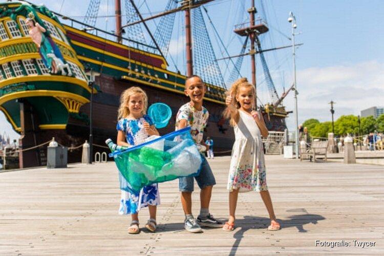De gek-op-waterweken in Het Scheepvaartmuseum
