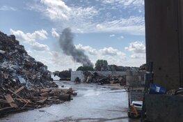 Grote brand bij recyclebedrijf in Amsterdam: rookwolken tot in Utrecht te zien