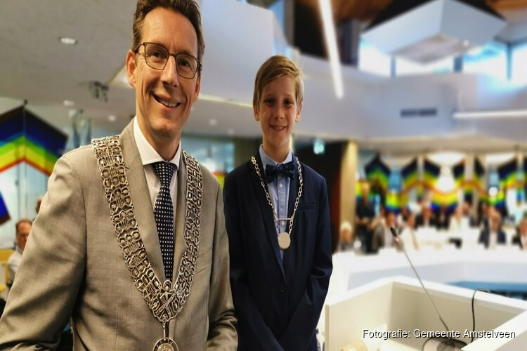 Kinderburgemeester Lieuwe officieel geïnstalleerd