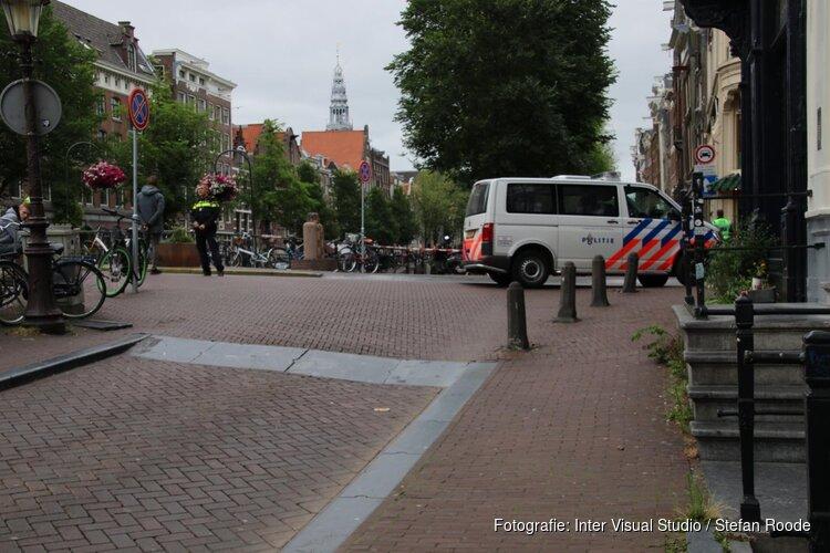 Granaat uit Tweede Wereldoorlog gevonden in Amsterdamse grachten