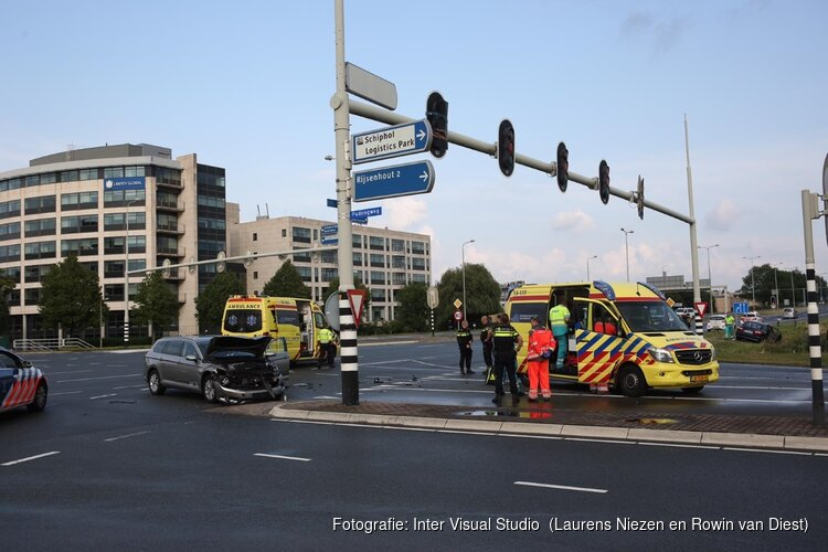 Gewonde bij aanrijding Schiphol Rijk-Aalsmeer