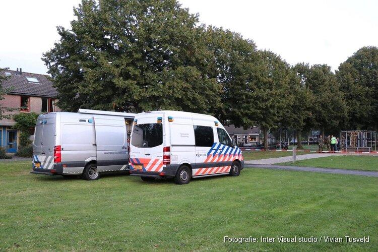 Mogelijk handgranaat gevonden voor woning Snodenhoekpark Amsterdam
