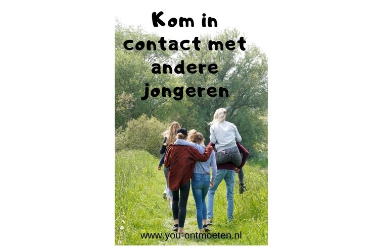 You-Ontmoeten voor online face to face contact