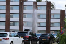 Gaslek bij hotel in Amstelveen: gasten staan op straat