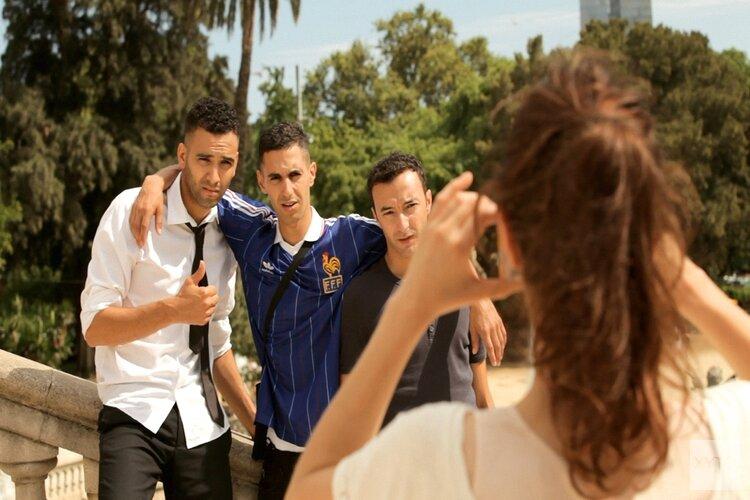 Film Rabat op groot scherm in Noorderpark
