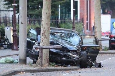 Twee zwaargewonden bij zeer ernstig ongeluk Amsterdam