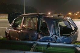 Politie-achtervolging mondt uit in groot ongeluk op A2: meerdere gewonden