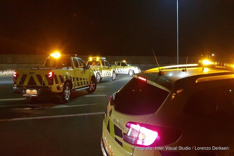 Achtervolgde automobilist reed met 200 kilometer per uur over vluchtstrook