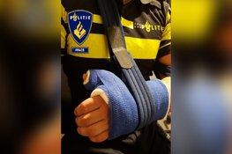 Agressieve arrestant bezorgt agent gebroken arm en hersenschudding