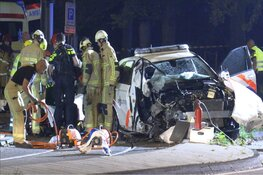 Ravage ongeval tijdens achtervolging in Amsterdam