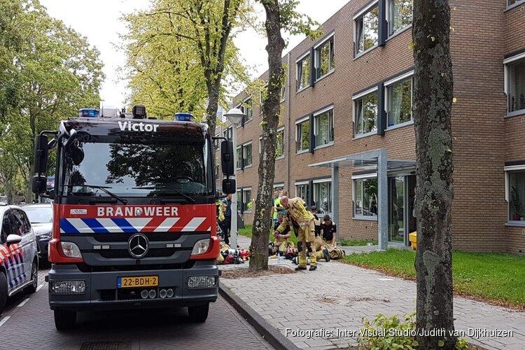 Een gewonden bij brand in woonzorgcentrum Amsterdam