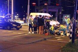 Fietser gewond bij aanrijding Piet Heintunnel in Amsterdam