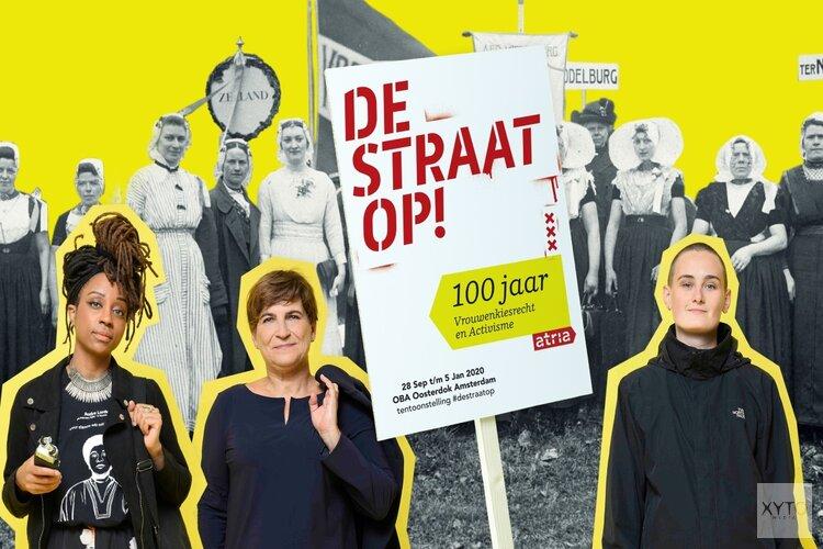 Atria presenteert tentoonstelling de straat op! 100 jaar vrouwenkiesrecht en activisme