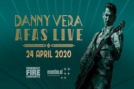 Danny Vera naar AFAS Live