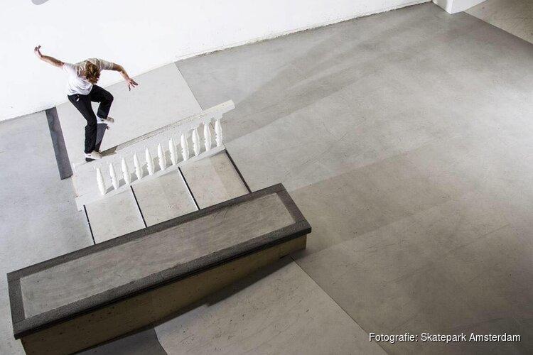 Eenmalige subsidie voor indoor Skatepark Amsterdam
