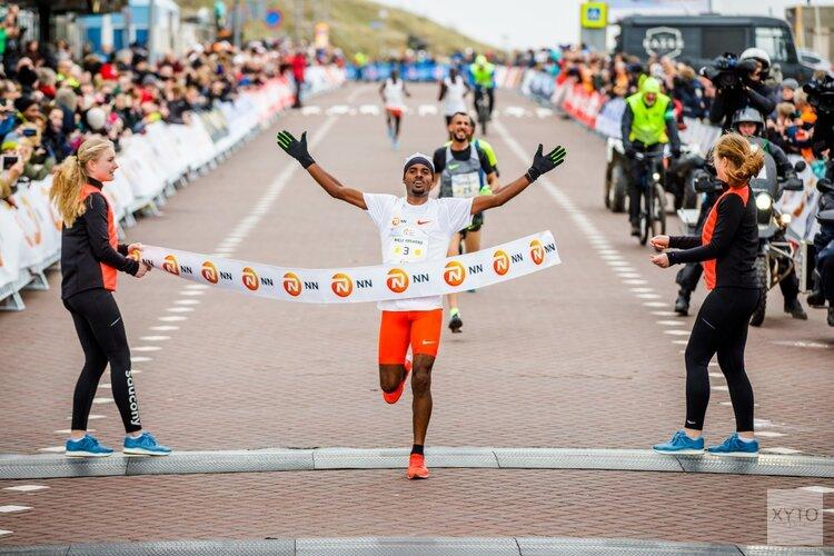 Razendsnelle Ethiopische marathonlopers vastgelegd voor TCS Amsterdam Marathon