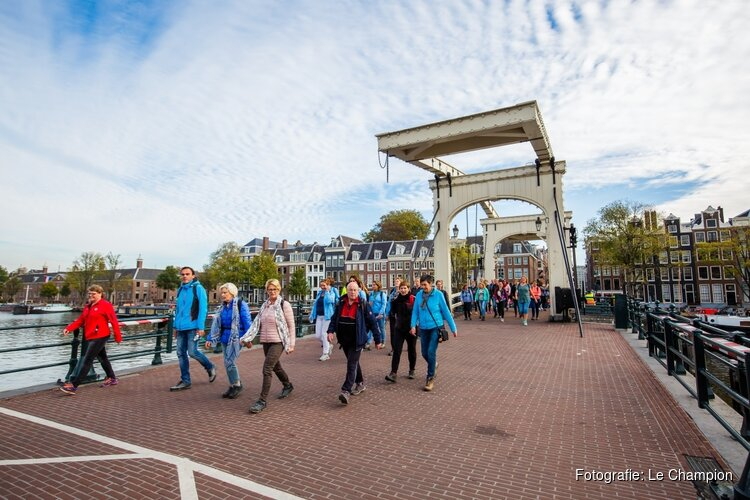 Hollandsche Manege Amsterdam goede doel voor 6e editie Amsterdam City Walk