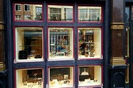 Brillenwinkel overvallen in centrum