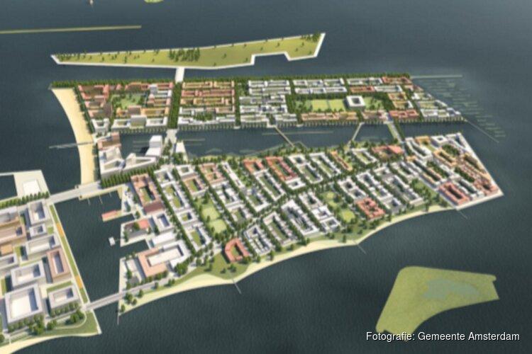 Strandeiland en Buiteneiland voltooien de IJburgse archipel