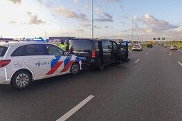 Drukte op snelwegen rond Amsterdam: flinke file op A1 richting hoofdstad